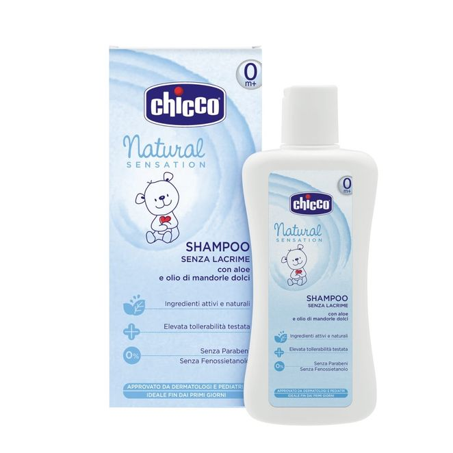 CHICCO NATURAL SENSATION SHAMPO 200 ml