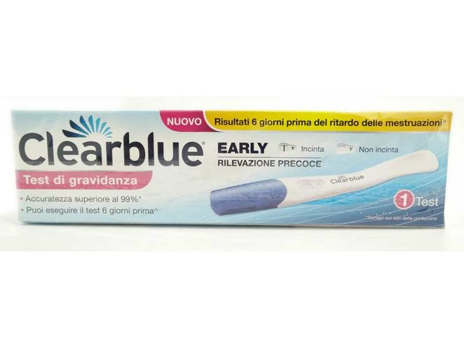 TEST DI GRAVIDANZA CLEARBLUE EARLY