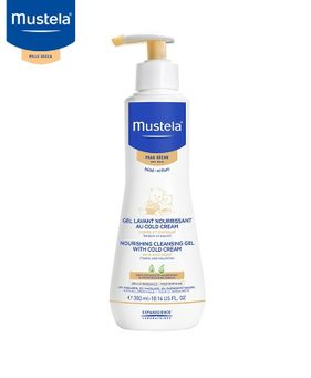 Mustela detergente nutriente alla cold cream 300 ml