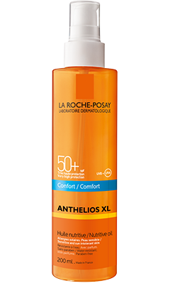 Anthelios XL SPF 50+ Olio nutriente invisibile COMFORT
