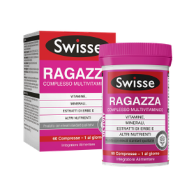 Swisse multivitaminico ragazza