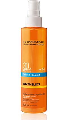 Anthelios SPF 30+ Olio nutriente invisibile COMFORT