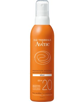 Avène latte Spray SPF 20+ 200ml